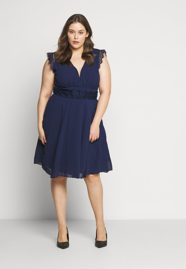 VIVICA DRESS - Vestito elegante - navy