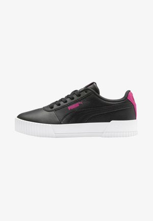 PUMA CARINA L YOUTH TRAINERS MÄDCHEN - Sneakers laag -  black