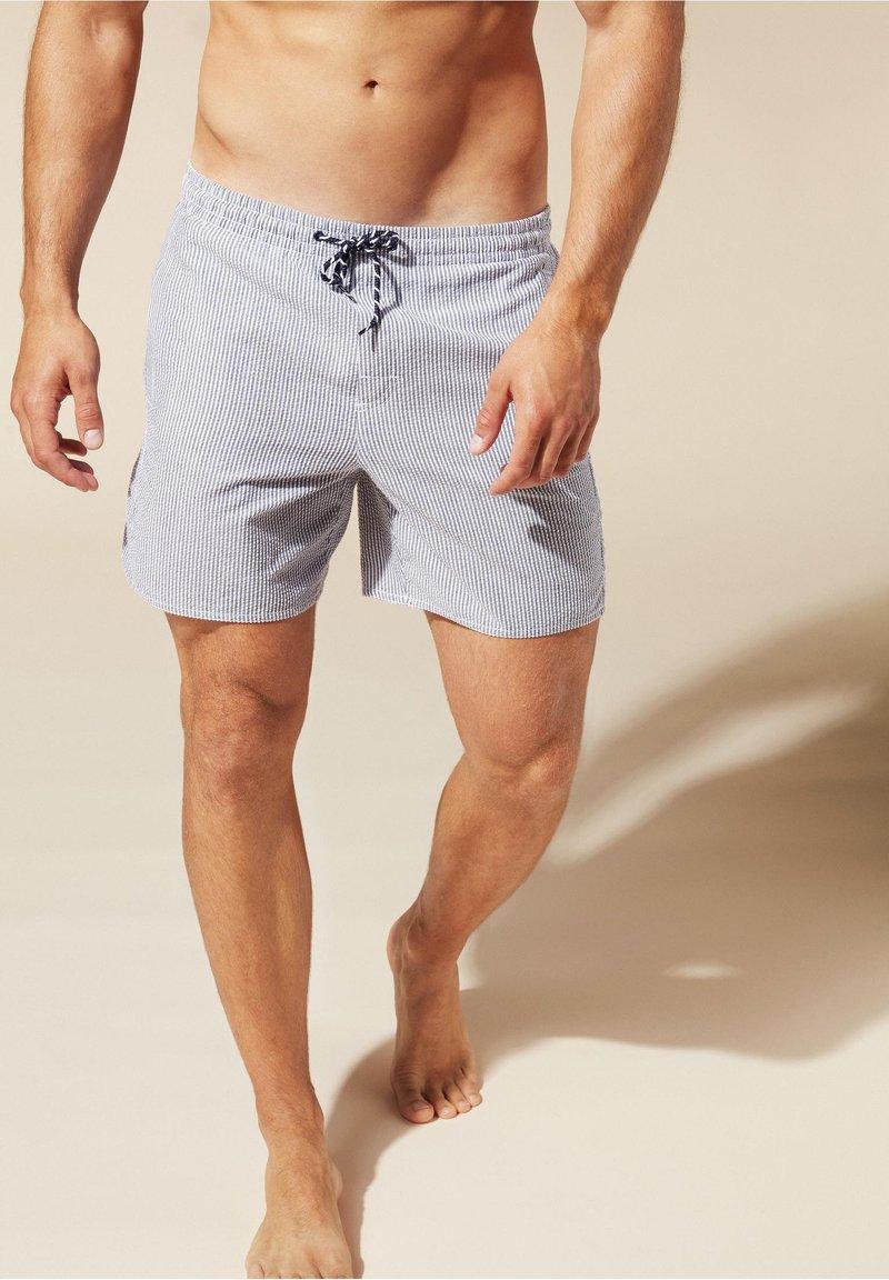 Calzedonia - Swimming shorts - blau - 225c - deep blue/bianco
