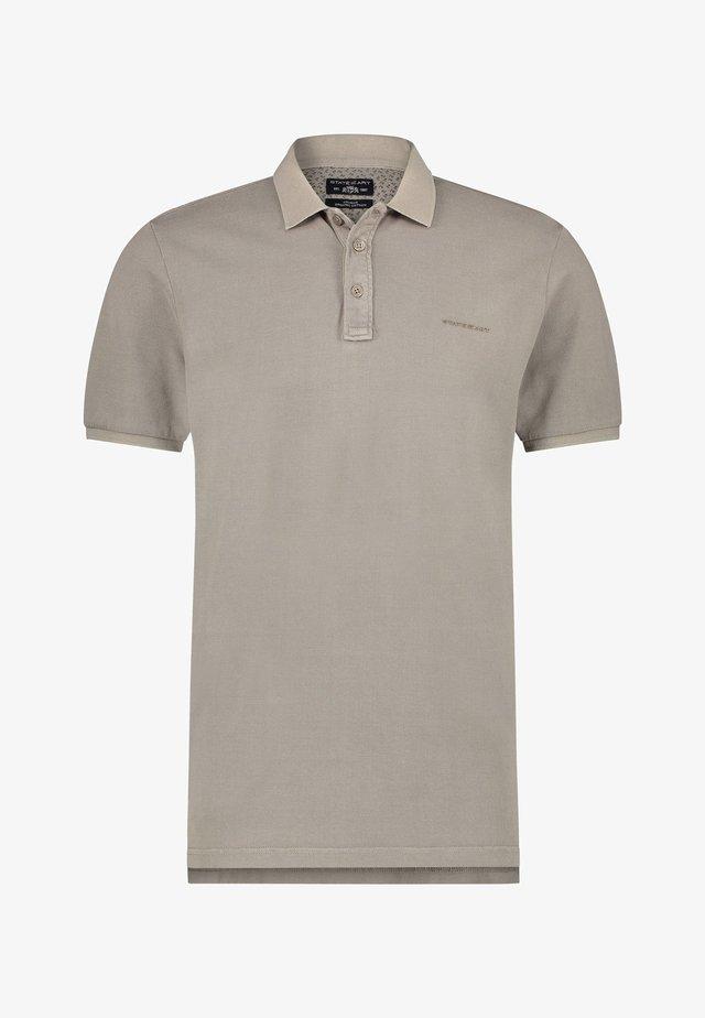 REGULAR FIT - Poloshirt - buff plain