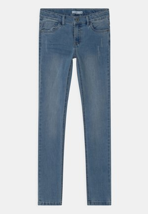 NKMTHEO - Jeans Skinny Fit - light blue denim
