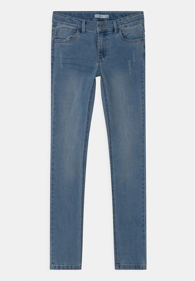 NKMTHEO - Jeans Skinny Fit - light blue denim