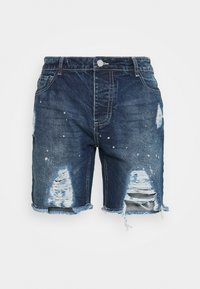 Good For Nothing - DISTRESSED - Denim shorts - blue - 3