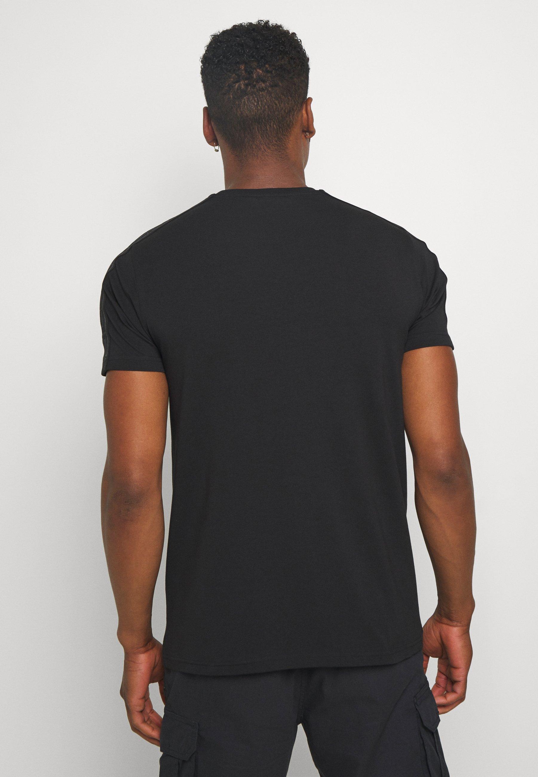 Abbigliamento da uomo Glorious Gangsta ALANIS T-shirt con stampa black