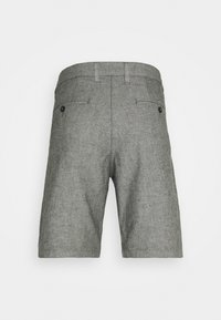 Selected Homme - SLHMILES FLEX - Shorts - black/mixed with egret - 7