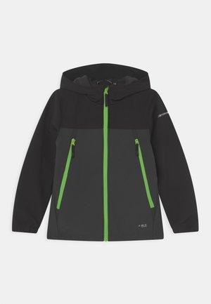 KONAN JR - Soft shell jacket - anthracite
