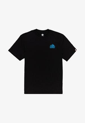 GRIZZARD - T-shirt print - flint black