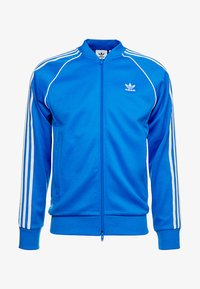 adidas Originals - SUPERSTAR ADICOLOR SPORT INSPIRED TRACK TOP - Träningsjacka - blue bird - 4
