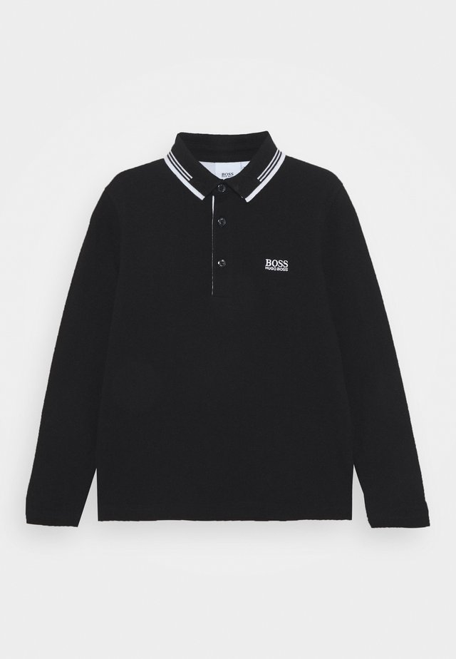 LONG SLEEVE - Polo - black