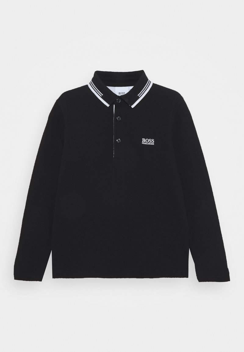 BOSS Kidswear - LONG SLEEVE - Polotričko - black