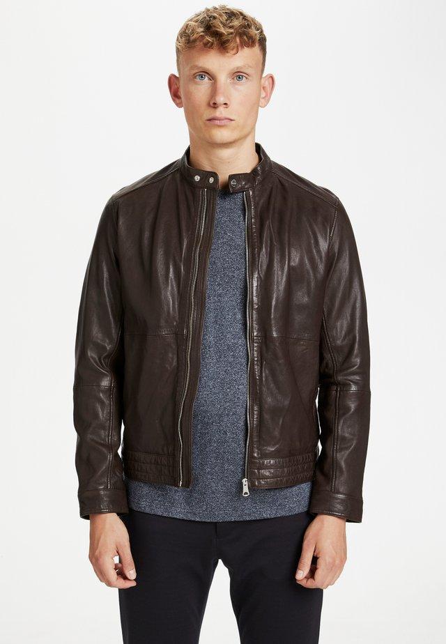 Læderjakker - dark brown