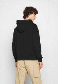 Vivienne Westwood - RUGGED ZIP HOODIE - Zip-up sweatshirt - black - 2