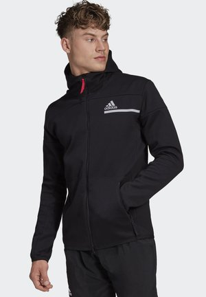 MENS TENNIS ZNE HOODED JACKET - Veste de survêtement - black