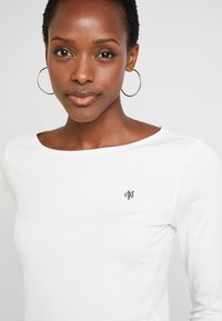 Marc O'Polo - LONG SLEEVE ROUNDNECK - Top s dlouhým rukávem - soft white - 4