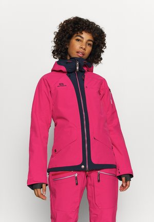 WOMENS BREVENT JACKET - Ski jacket - pink