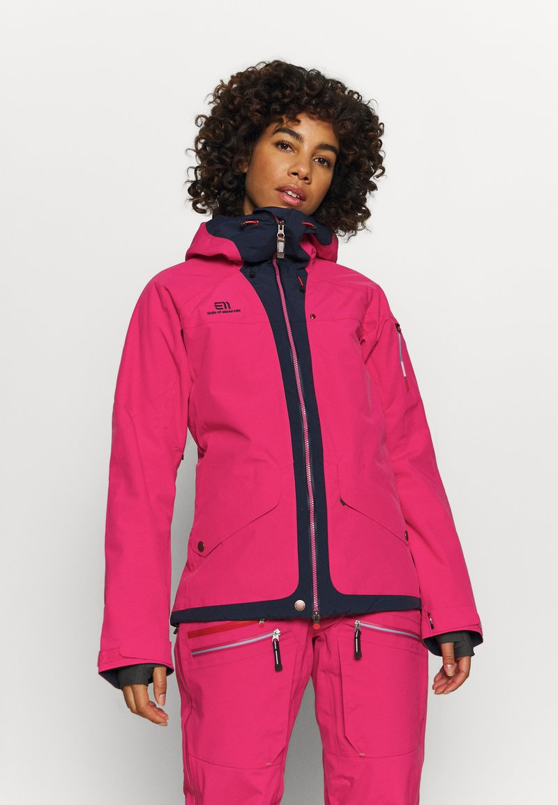 State of Elevenate - WOMENS BREVENT JACKET - Chaqueta de esquí - pink
