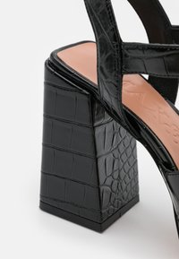 MAX&Co. - BREST - Sandalen met hoge hak - black - 6
