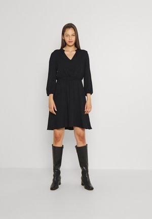 VIVISH DRESS - Day dress - black solid