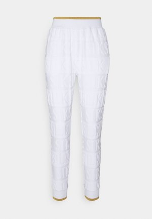 INVERSE TRACK PANT - Tracksuit bottoms - whiite