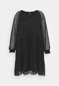 Pieces Curve - PCNUTSI DRESS - Cocktail dress / Party dress - black - 5