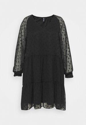 PCNUTSI DRESS - Koktejlové šaty/ šaty na párty - black