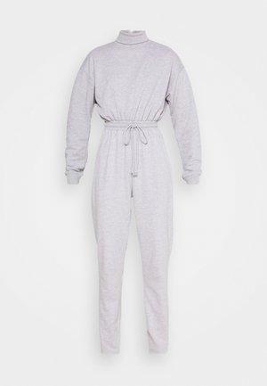 ROLL NECK DROP SHOULDER - Tuta jumpsuit - grey
