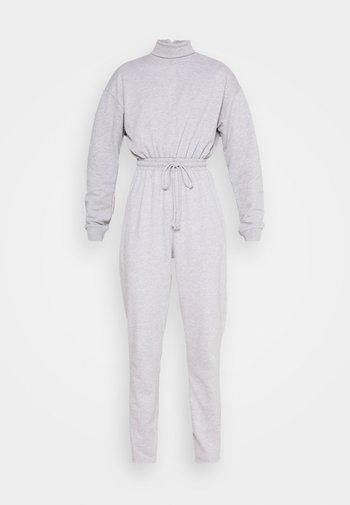 ROLL NECK DROP SHOULDER - Jumpsuit - grey