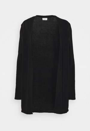 VISINOA OPEN - Cardigan - black