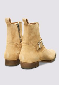 Tigha - Cowboy/biker ankle boot - beige - 2