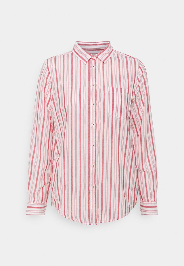 APUESTA CAMISA LIGERA - Blouse - red/white