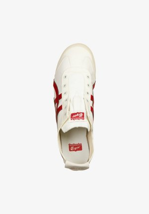 SCHUHE MEXICO 66 SLIP-ON - Sneakers laag - cream/classic red