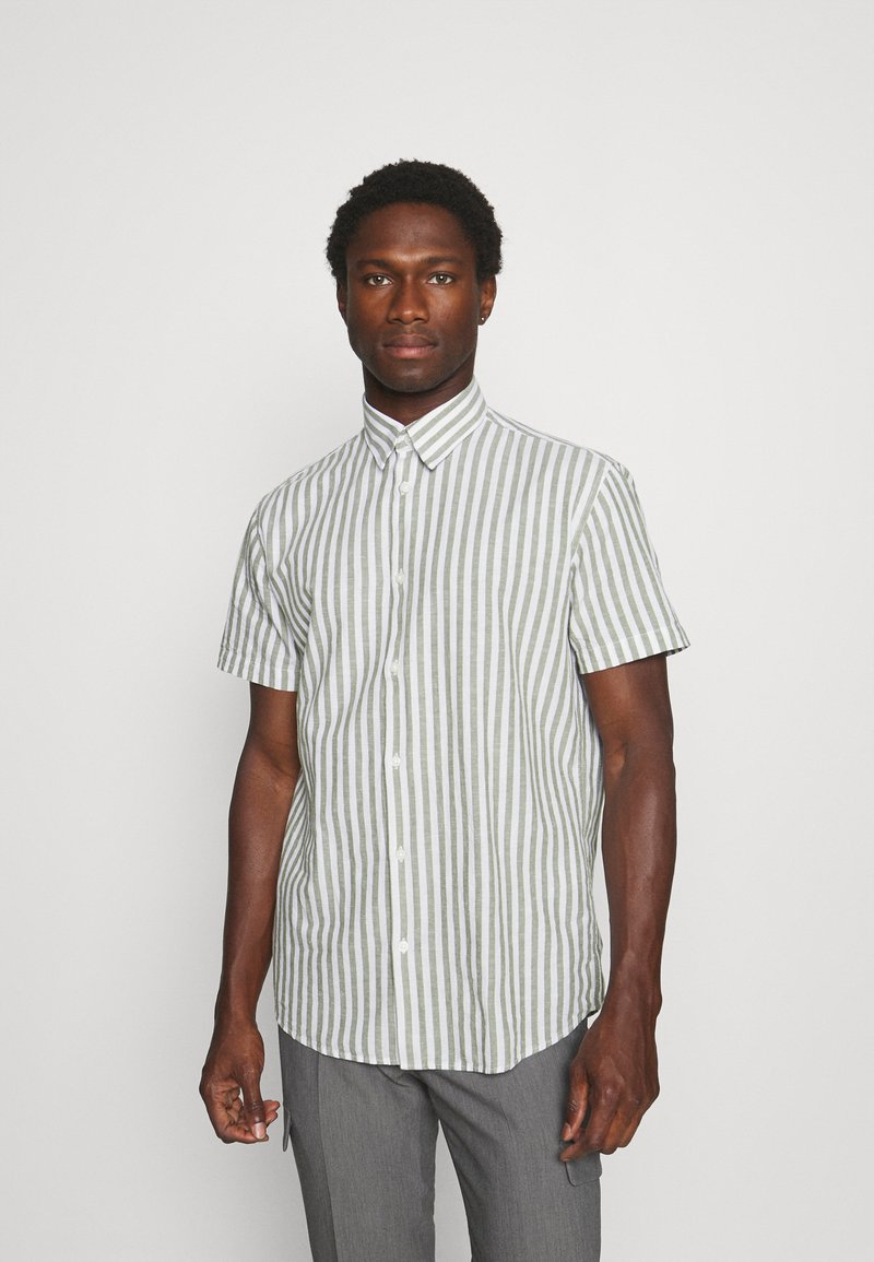 Selected Homme - SLHREGNEW CLASSIC - Shirt - smoke green