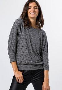 zero - Long sleeved top - black - 0