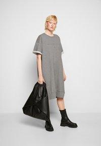 MM6 Maison Margiela - DRESS - Day dress - grey - 4