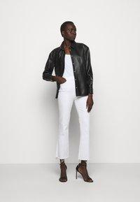 LIU JO - GIACCA CAMICIA - Leather jacket - nero - 1