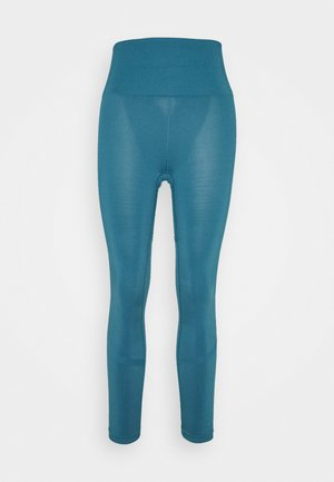 Tights - mallard blue