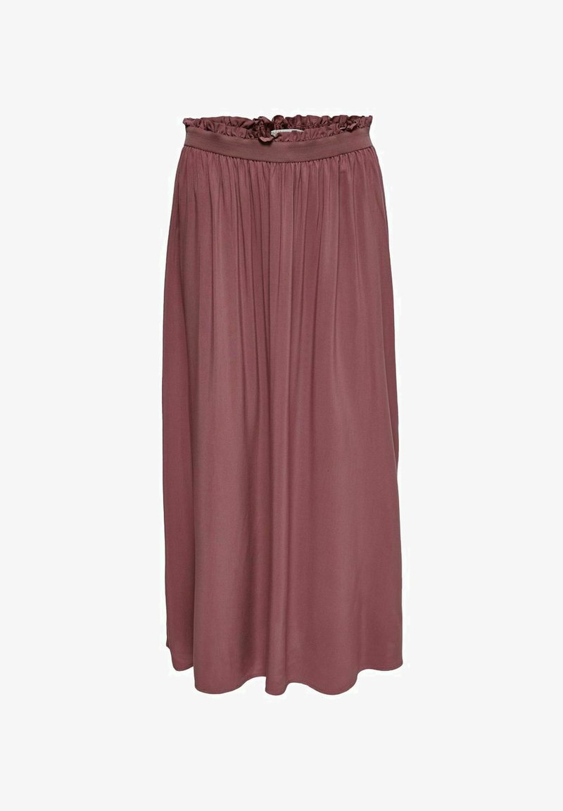 ONLY - Pleated skirt - rose brown