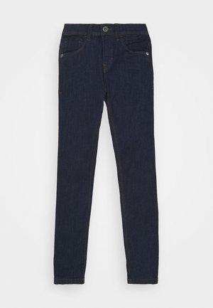 NLMPILOU PANT - Vaqueros slim fit - dark blue denim