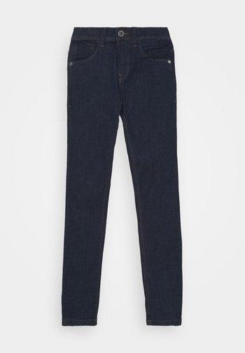 NLMPILOU PANT - Slim fit jeans - dark blue denim