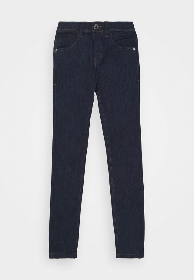 NLMPILOU PANT - Jeans slim fit - dark blue denim