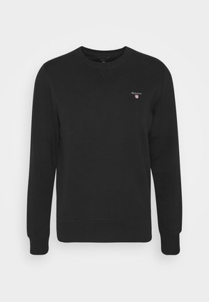 THE ORIGINAL C NECK  - Sweatshirt - black