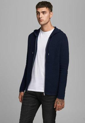 Zip-up hoodie - maritime blue