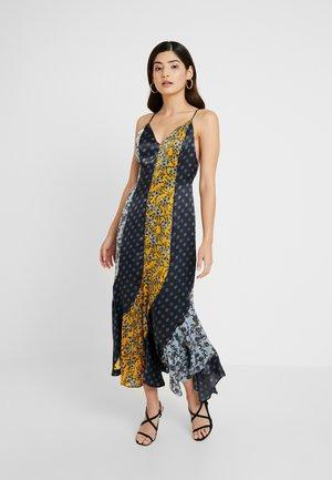 MIXED PRINT GODET SLIP - Maxi dress - multi