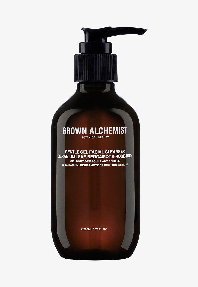 Grown Alchemist - GENTLE GEL CLEANSER GERANIUM LEAF, BERGAMOT & ROSE-BUD - Gezichtsreiniger - -