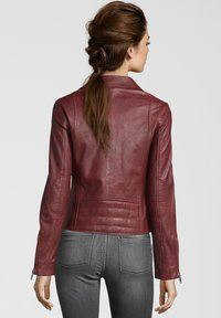 Apple of Eden - GHOST - Leather jacket - red - 1