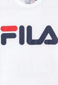 Fila - GAIA CLASSIC LOGO UNISEX - Printtipaita - bright white - 3