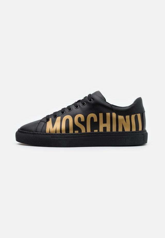 SERENA - Sneakers laag - nero/oro