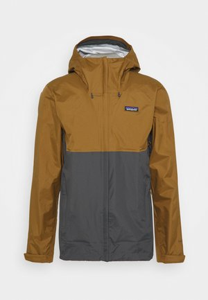 TORRENTSHELL - Hardshell jacket - coriander brown