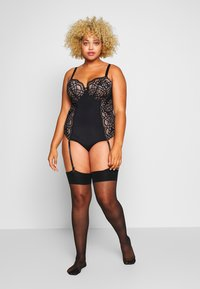 City Chic - ANDREA BODYSUIT - Body - black - 1