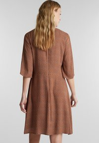 Esprit - LIGHT WOVEN - Denní šaty - rust brown - 2